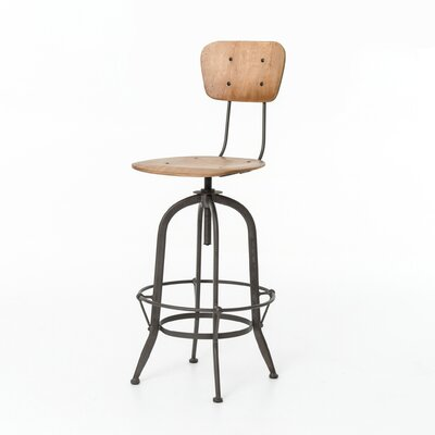 Minoru Swivel Bar Stool