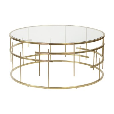 Esme Brushed Coffee Table