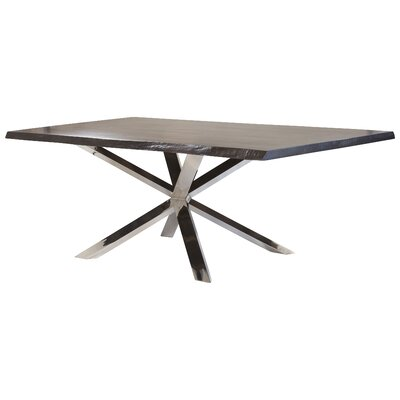 Couture Dining Table Base Finish: Polished Silver