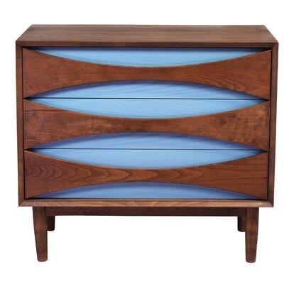 Lowboy 3 Drawer Dresser