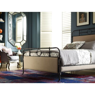 Churchill Upholstered Platform Bed Size: Queen