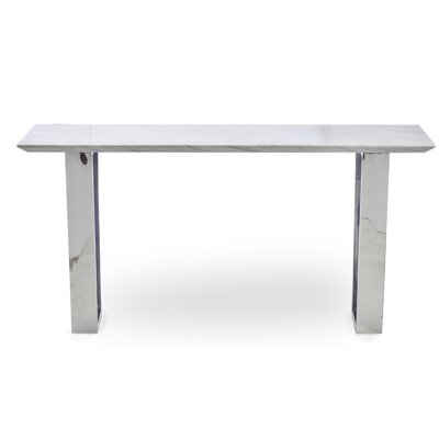Catrine Marble Console Table