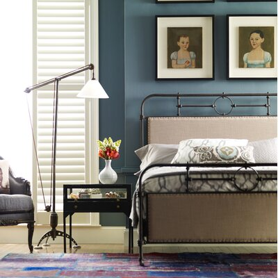 Churchill Upholstered Platform Bed Size: King