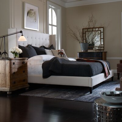 Jefferson Upholstered Platform Bed Size: King