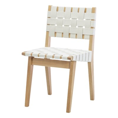 Woven Dining Chair Upholstery : Natural