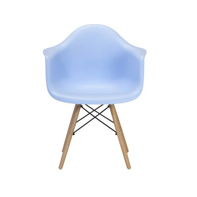 Weiss Arm Chair Color: Blue