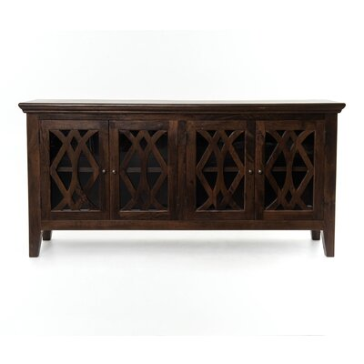 Mango Wood Sideboard Color: Dark Antiqued Brown