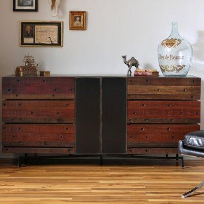 Moore 6 Drawer Standard Dresser