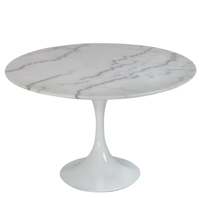 Weiss Oval Coffee Table Finish: White Marble