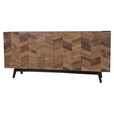 Carlo Media Console Table