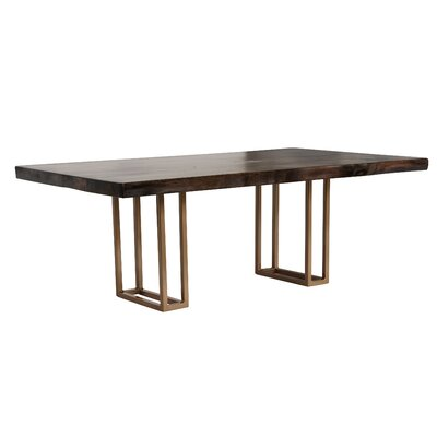 Esther Coffee Table Base Color: Gold Double