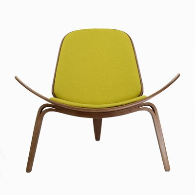 Lucas Lounge Chair Color: Yellow