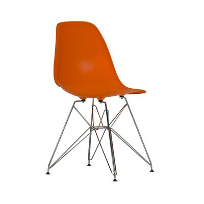 Khang Side Chair Color: Orange