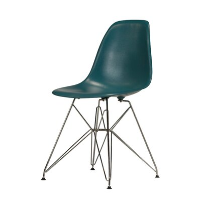 Khang Side Chair Color: Teal Blue