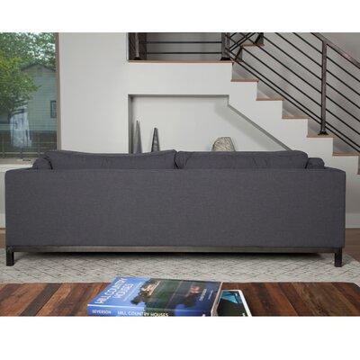 Stinnett Standard Sofa Upholstery: Gray