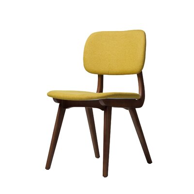 Ivor Side Chair Upholstery: Yellow