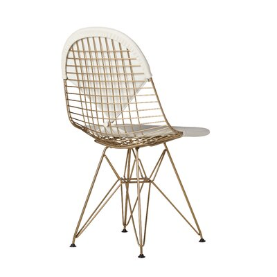 High Littleton Gold Side Dining Chair