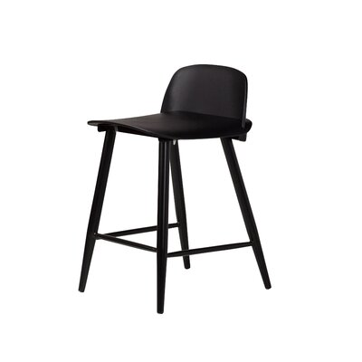Roxana 24 Bar Stool Finish: Black