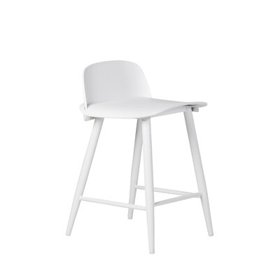 Roxana 24 Bar Stool Finish: White