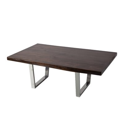 Reinaldo Coffee Table Top Color: Jacobean