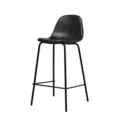 Smart Counter 25.5 Bar Stool Color: Distressed Black