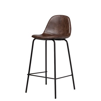 Smart Counter 25.5 Bar Stool Color: Distressed Brown