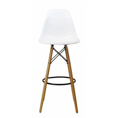 31.5 Bar Stool Finish: White