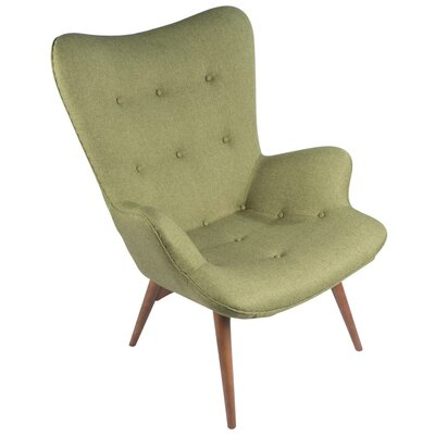Featherston Lounge Chair Upholstery: Green