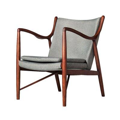 Finn Armchair Upholstery: Grey