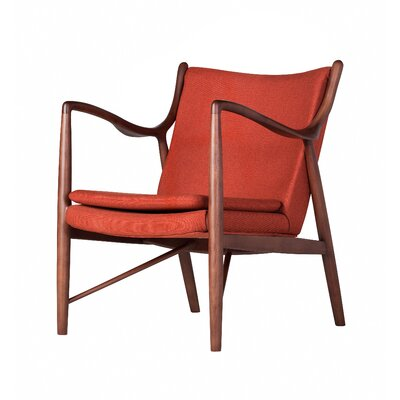 Finn Armchair Upholstery: Orange