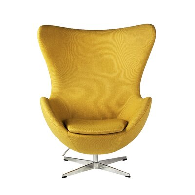 Balloon Lounge Chair Upholstery: Yellow