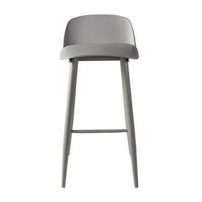 Blough 30 Bar Stool Color: Gray