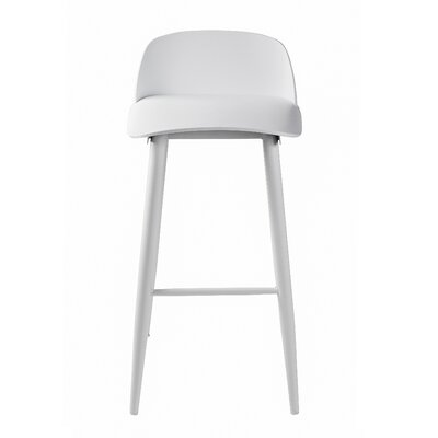 Blough 30 Bar Stool Color: White