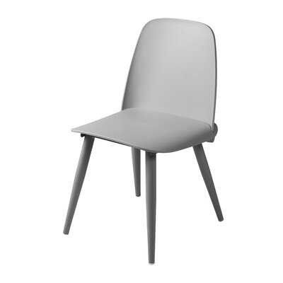 Croll Dining Chair Upholstery Color: Gray