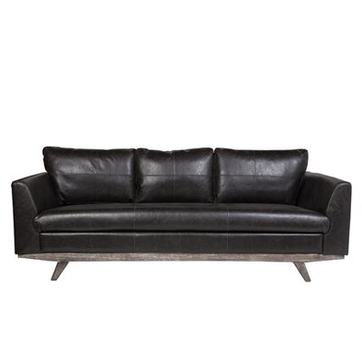 Claverton Down Leather Sofa