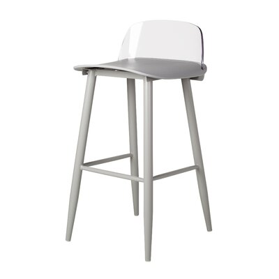 Coolidge 30 Bar Stool Color: Gray