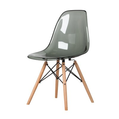 Yamaguchi Dining Chair Color: Smoke