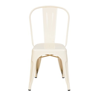 Terri Dining Chair Color: Vanilla