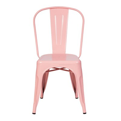 Terri Dining Chair Color: Pink