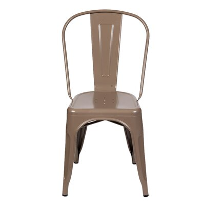 Terri Dining Chair Color: Taupe