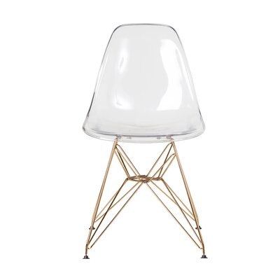 Lamphere Dining Chair Color: Clear