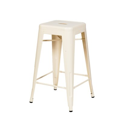 Douglaston 26 Bar Stool Color: Vanilla