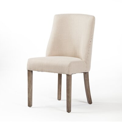 Maxey Dining Chair Upholstery Color: Off White