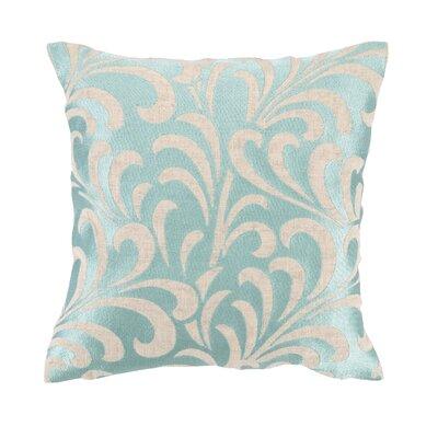 Talavera III Embroidered Linen Throw Pillow