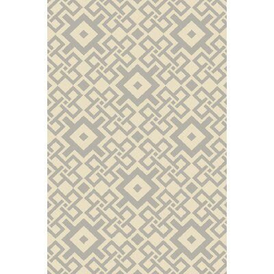 Aura Beige/Moss Indoor/Outdoor Area Rug Rug Size: Rectangle 5 x 76