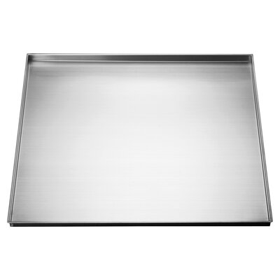 Kitchen-25 x 22 Stainless Steel Under Sink Tray