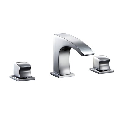 Double Handle Deck Mounted Faucet Finish: Chrome