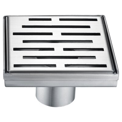 Amazon River 2 Grid Shower Drain