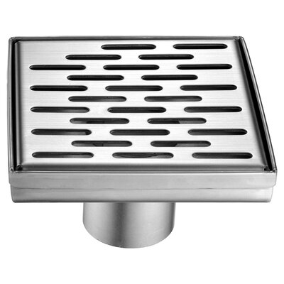 Yangtze River 5.25 Grid Shower Drain