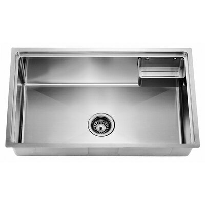 29.63 x 19.19 Undermount Small Corner Radius Single Bowl Kitchen Sink